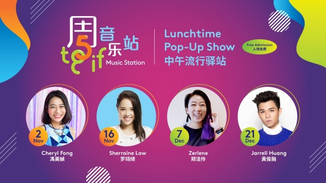Discover Singapore's Local Stars And Rising Talents At The TGIF Music Station