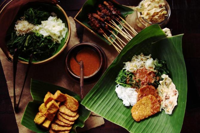 food plating styles