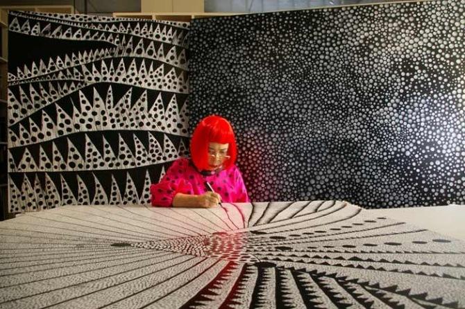How 'Princess Of Polka-Dots' Yayoi Kusama Turned Her Trauma Into Amazing Art