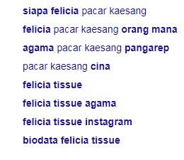 pacar kaesang pangarep felicia tissue pacaran jaman sekarang