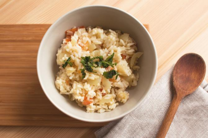 cook with rice